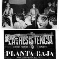 La Resistencia – En Concierto [Directo en Planta Baja] (1986)